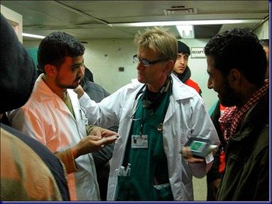 Mads Gilbert lege Gaza