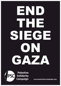 end seige on gaza